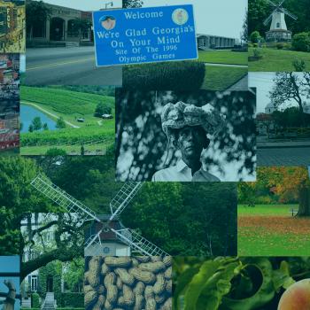 Customized Georgia Collage